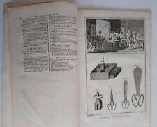 1751 Diderot D'Alembert Tailleur d'Habits et Tailleur de Corps Sastre 24 Láminas