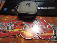 12 VideoNow Movies with Gamecube case Fear Factor Shark Week Odd Parents Spong