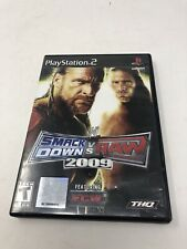 WWE SmackDown vs. Raw 2009 PS2 (Sony PlayStation 2, 2008) Free Ship
