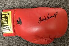 Felix Tito Trinidad Signed Boxing Glove Everlast Autograph Middleweight HOF JSA