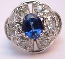Anniversary Handmade Sapphire Fine Rings