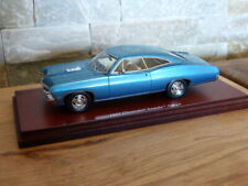 Chevrolet Impala 1967 2 Door Coupe Marina blau blue TSM Modellauto 1:43