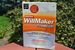Quicken WillMaker Premium 2010 - BRAND NEW