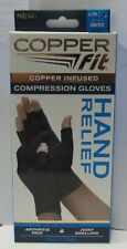 COPPER FIT Infused Compression Gloves Arthritis Pain/Joint Swelling LG-XL