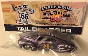 2019 Hot Wheels 33rd Convention Tail Dragger Larry Wood DINNER CAR