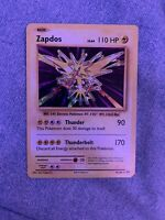 Pokemon Card Zapdos 42/108 Evolutions Holofoil. Very Rare- Free Shipping