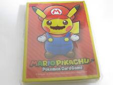 Pokemon Center 20th Anniversary 64X Super Mario Pikachu Protèges Cartes Sleeve
