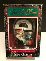 Trim A Home Tree Charm Ornament Merry Christmas Teacher Mouse 1992