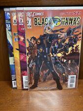 Dc Comics New 52 Black Hawks #1-8 First Prints COMPLETE SET LOT RUN