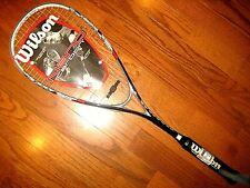 Wilson Nano Carbon nForce Squash Racquet - Brand New!