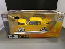 JADA 1/24 DUB CITY YELLOW 1987 BUICK GRAND NATIONAL *DONOR OUTER BOX* READ