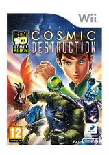 Ben 10 Ultimate Alien: Cosmic Destruction (Nintendo Wii PAL 2011) GRATUIT Royaume-Uni p&p