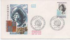 FRANCE 1972.F.D.C.CHOMEDEY DE MAISONNEUVE. OBLIT:LE 19/2/72 NEUVILLE-SUR-VANNE