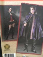 Simplicity Sewing Pattern 2529 Mens Ladies Teens Cape Size L-XL Uncut