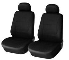 1+1 Sitzbezüge Vordere Schonbezüge Schwarz Neu für Honda Hyundai KIA Mazda Opel