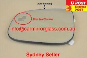 Left MIRROR GLASS FOR JAGUAR XE XF XJ XFR XJ8 XJR XK XKR XKR-S (BSP, Dimming)