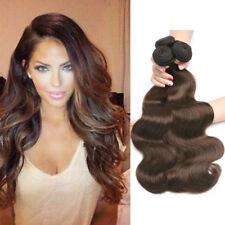 100G/Bundle #4 Brown Body Wave Hair 1/3/4 Bundles Brazilian Human Hair Weave