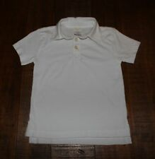 J.CREW BOYS' JERSEY POLO SHIRT SHORT SLEEVE WHITE SIZE 14 NEW IN PACKAGE