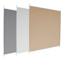 Plisse blind pleated blind many sizes/color easy installation conservatory blind