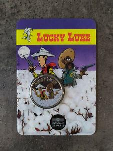 Blister Médaille Colorée Lucky Luke 2020 France Monnaie de Paris Shérif 2020 ex