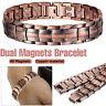 Bracelet de thérapie magnétique bracelet en cuivre de soulagement de la douleur