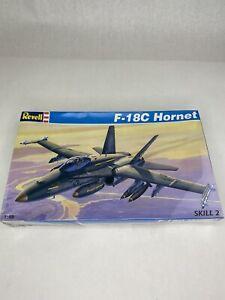 New REVELL Model Kit F-18C HORNET Fighter Jet 1:48 Scale - 1995 - FACTORY SEALED