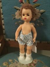 Doll Terri Lee Tiny Jerri Lee in Undershorts  Caracul Wig  1950s