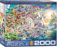 EuroGraphics 8220-5551 Unicorn Fantasy 2000-teiliges Puzzle
