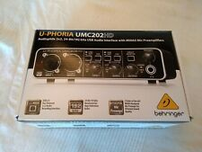 Behringer UMC202HD USB Audio Interface with Midas Preamp