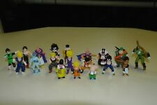 "Dragon Ball Z mini PVC lot 1989 18 figures 1""-2"" figures Rare! B.S./S.T.A."