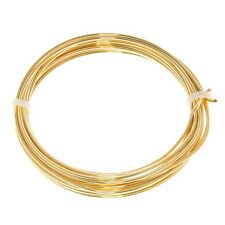 Bead Craft Wire Gilt on Copper 1.25mm (17 AWG) - 3 Metres (C68/7)