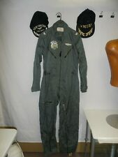 fu1-2 Vietnam USAF Flight Suit & caps K2B 1966 small short 554 Recon WX Colonel