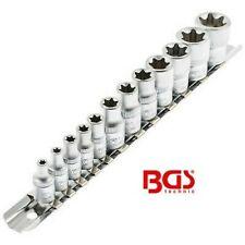 Douilles Torx avec Support 1/4 3/8 - BGS Technic