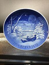 """ROYAL COPENHAGEN 1970 """"Pheasants in the Snow"""" Denmark Christmas 7"""". Plate"""