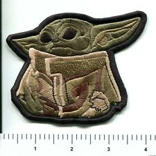 "Star Wars ""The Child"" Baby Yoda Sitting Embroidered Patch"