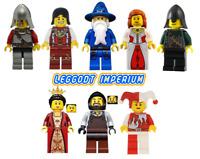 Lego Castle Minifigures - Kingdoms - prince wizard queen blacksmith FREE POST