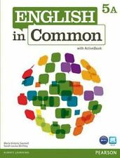 English in Common 5A Split: Student Book with ActiveBook and Workbook