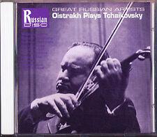 David OISTRAKH KNUSHEVITSKY: TCHAIKOVSKY Violin Concerto Rococo CD Gauk Samosud
