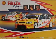V8 Supercar DJR Johnson Luff Poster Excellent Cond Never Hung & Stored Flat