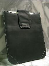 Bvlgari Parfums Unisex Black iPad/Tablet/eBook Pouch. Brand New. Authentic.