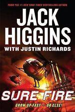 Sure Fire by Jack Higgins (Hardback, 2007)