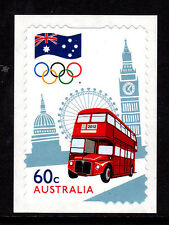 2012 The Road to London 2012 Australian Olympic Team P&S Stamp