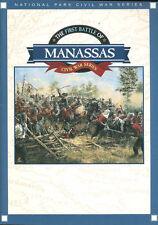 National Park Civil War Series   First Manassas Bull Run 1861 McDowell Stonewall