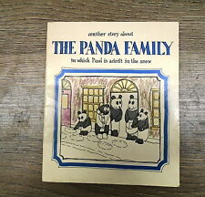 ANOTHER STORY ABOUT THE PANDA FAMILY by C J CRESSEY - UK POST £3.25