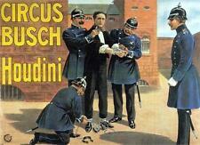 Houdini Poster Magic Art24in x 36in