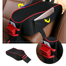 PU Leather SUV Car Armrest Box Mats Console Universal Pad Liner Cushion Cover