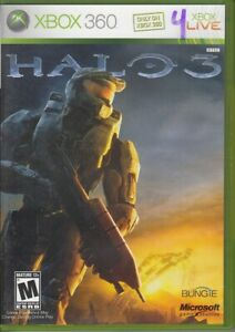 Halo 3 (Xbox 360, 2007) Includes Poster & Manual VG+ Game Disc