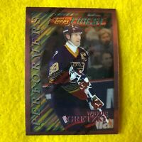 WAYNE GRETZKY , BLUES , 1996 TOPPS FINEST , NHL HOCKEY , CARD #5 MINT !