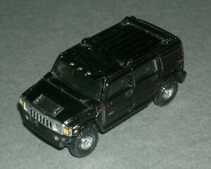 1/64 Scale 2004 Hummer H2 Wagon 4x4 Diecast SUV (Opening Rear Door) Tomica 15