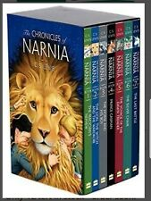 The Chronicles of Narnia by C.S. Lewis: 8 Book Box Set FAST FREE SHIPPING